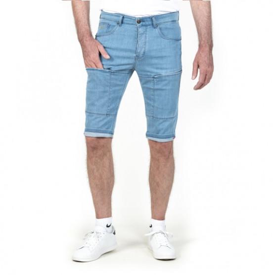 bermuda avec poche genou zippee