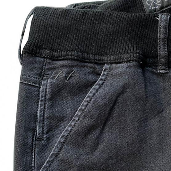 pantalon de télétravail noir. ceinture élastiquée. homme grand