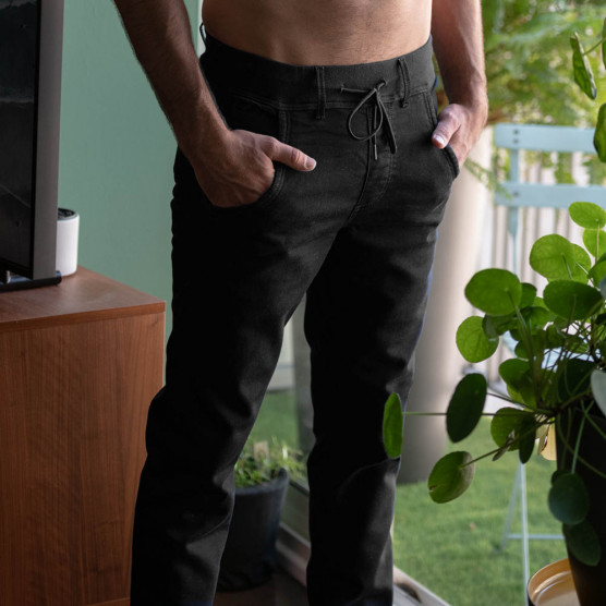 pantalon de télétravail ou de jogging élégant pour homme jambes extra longues