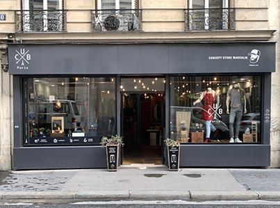 vitrine magasin concept store CUB Paris 10